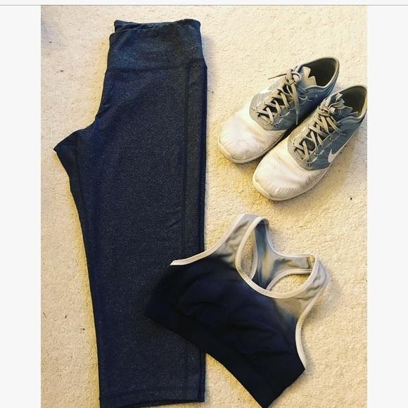 Old Navy Pants - active crop leggings